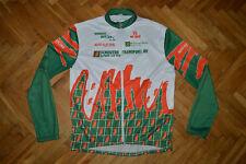 Bio-Racer bike cycling vtg jersey shirt track top jacket shell rare
