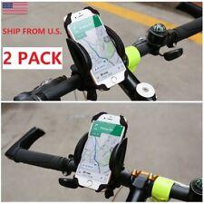 2 PACK  Phone Holder Mount Bike Baby Motorcycle Rack Handlebar Iphone Samsung