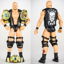 WWE Defining Moments Stone Cold Steve Austin Smoking Skull Action Figure Kid Toy