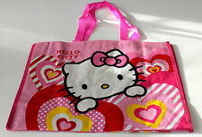 NEUF HELLO KITTY SAC FILLE SAC SHOPPING ENFANTS ROSE Sac de courses polyester
