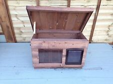 IN OR Outdoor Quality  Wood Dog/Cat Kennel/ Shelter ~ DELIVERED FULLY ASSEMBLED