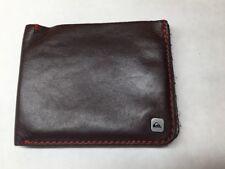 Quiksilver Slim   Leather Bi-Fold  Wallet