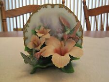 2001 Bradford Exchange Treasures Of The Garden Delicate Radiance Plate #A1219