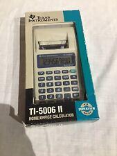 Texas Instruments Ti 5006 Ii Unused In Box