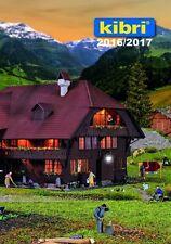 Kibri 99904 CATALOGO principale 2016/2017 TEDESCO/INGLESE EDIZIONE # NUOVO conf.