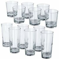 GODIS Clear Glass Tumbler 8/14oz Dishwasher Safe Drinking Glasses Pack of 6 IKEA