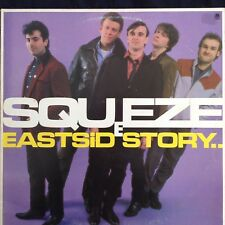 SQUEEZE: EASTSIDE STORY  1981 A&M LP AMLH64854  Labelled With Love etc.