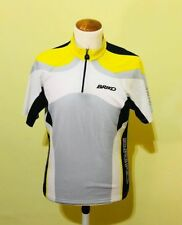 BRIKO YELLOW RETRO VINTAGE BIKE CYCLE CYCLING JERSEY - Size L