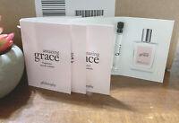 4 Amazing Grace Philosophy 6 mL 0.2 Oz Total Toilette Womens Fragrance Lot Set