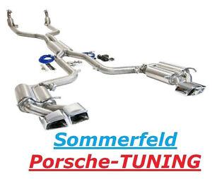 Mercedes Benz C63 AMG Klappenauspuff + Sportkat Valved Sport Exhaust 2008 - 2016