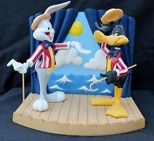 DAMAGED Wedgwood Looney Tunes Night Of Nights Bugs Bunny & Daffy Duck 500 Ltd Ed