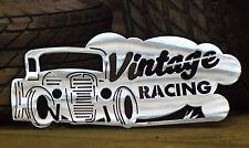 "Hot Rod ""Vintage Racing"" Wall Art"