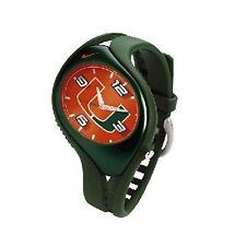 Nike Triax Blaze Junior NCAA University of Miami Team Watch WD0068-301