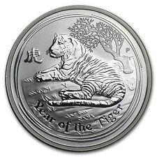 2010 Australia 1/2 oz Silver Year of the Tiger BU (Series II) - SKU #54873