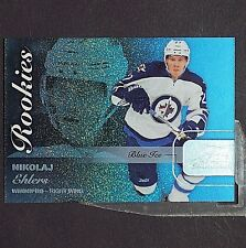 NIKOLAJ EHLERS  /199 RC 2015/16 Fleer Showcase Blue Ice #41 Winnipeg Jets Rookie