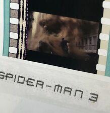 Spider-Man 3 (2007) Movie Authentic Film 5-Cells Strip VILLAIN SANDMAN