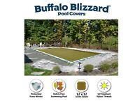 Buffalo Blizzard 16' x 32' SUPREME PLUS Rectangle Swimming Pool Winter Cover