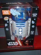 R2-D2 BUBBLE MACHINE star wars NEW blower maker party DISNEY lights sound
