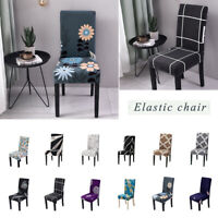Stretch Spandex Chair Covers Slipcovers Dining Room Wedding Banquet Party Decor