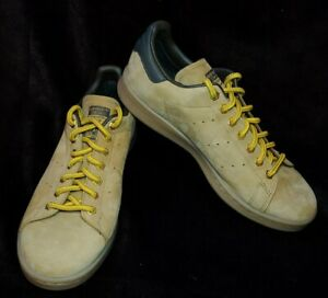 Men's Adidas Originals Stan Smith Wheat Nubuck Leather Shoes Size 8