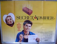 Cinema Poster: SECRET ADMIRER 1985 (Quad) C. Thomas Howell Kelly Preston