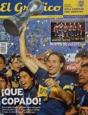 BOCA JUNIORS Champion Argentina Cup SPECIAL Magazine + POSTER 2012