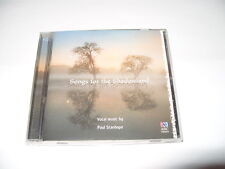 PAUL STANHOPE -SONGS FROM THE SHADOWLAND -17 TRACK cd -2010 New/Not sealed