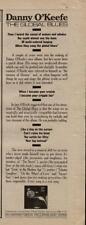 """1979 Danny O'Keefe """"The Global Blues"""" Album Promo Ad"""