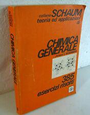 Rosenberg,CHIMICA GENERALE.385 esercizi risolti,1974 Etas[SCHAUM