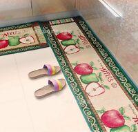 Apples Kitchen Rugs Home Decor Floor Mats Non slip Cartoon Carpet Indoor Doormat
