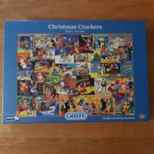 BERYL PETERS:CHRISTMAS CRACKERS:  1000 PIECE JIGSAW GUARANTEED COMPLETE