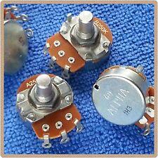Bulk Buy - A 250K Audio/Log B 250K Linear 23mm solid shaft Metric pots