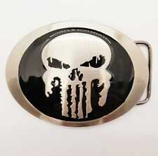 Punisher Skull belt buckle Marvel superhero comic