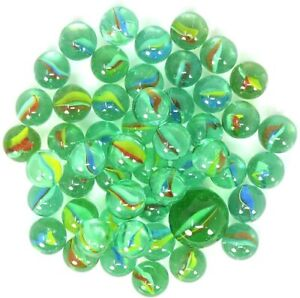 Biglie di vetro colorate 100pz sfera 1.5 cm Giochi Classici Interno Estern 500gr