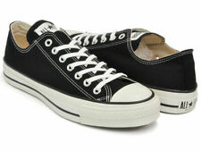 【DHL】New Converse Canvas All Star J OX Black MADE IN JAPAN Limited 32167431 rare