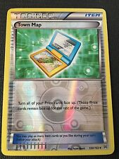 4x Town Map Boundaries Crossed Uncommon NM-Mint Pokemon BW 136//149