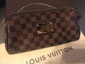 Authentic Louis Vuitton eva damier