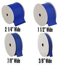 "Grosgrain Ribbon 3/8"",7/8"",1 1/2"",2 1/4"" widths 10 yd rolls 25 colors Free Ship"