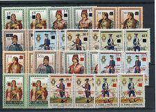 Sao Tome 464/83 a + b postfrisch / UPU - Uniformen ........................1/501