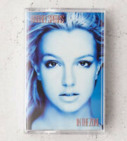 IN THE ZONE RARE Britney Spears CASSETTE Limited Edition Blue Urban Outfitters