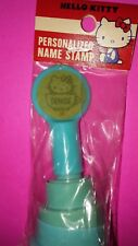 1976 1983 HELLO KITTY SANRIO PERSONALIZED NAME STAMP ( DENISE.)