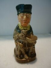 """Vint Royal Doulton Dickens toby jug Mr. Micawber 4 1/2"""" marked A ex cond"""