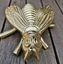 Dekofigur Biene Bienenfigur Gold 8.5 cm Figur Fliege Metall Insekt Dekoration