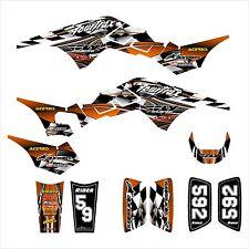 TRX 250R Graphics 250 R custom decal sticker kit #2500 Orange
