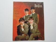 ORIGINAL EARLY 60's BEATLES NEMS ENT LTD PHOTO GROUP SHOT