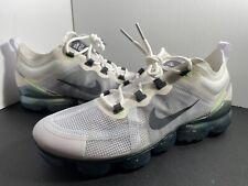 Nike Air VaporMax 2019 'Lime Blast' Men's Size 10 White Gray Running AT6810-100