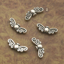 60pcs Tibetan Silve wing Spacer bead Findings X0191