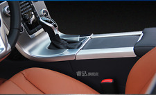 Full Stainless steel Cup Holders Center Console Panel Cover Volvo XC60 S60 V60