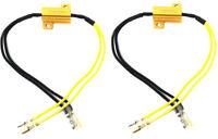 LED Indicators Load Resistors Motorbike Scooter Trike Quad - Pair Easy Fit