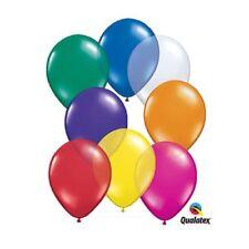 "Burton & Burton 16"" Asst Jewel Tone Qualatex Balloon 50 Pack"